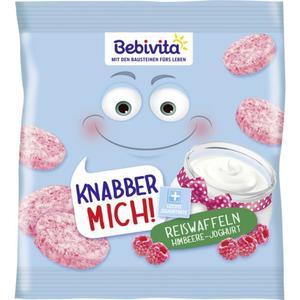 Bebivita Knabber Mich! Reiswaffeln Himbeere-Joghurt 2.50 EUR/100 g
