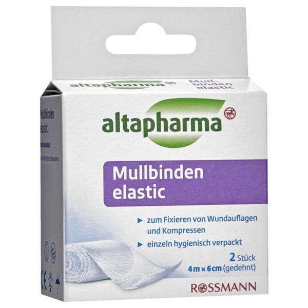 altapharma Mullbinden elastic 0.19 EUR/1 m