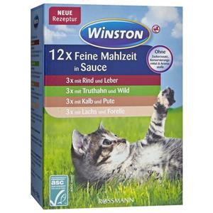 Winston Feine Mahlzeit in Sauce Multipack 1.88 EUR/1 kg