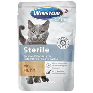 Winston CARE Sterile Nassfutter mit Huhn 0.58 EUR/100 g (12 x 85.00g)