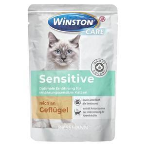 Winston CARE Nassfutter Sensitive reich an Geflügel 0.58 EUR/100 g (12 x 85.00g)