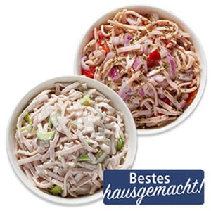 Fleischsalat oder Wurstsalat je 100 g