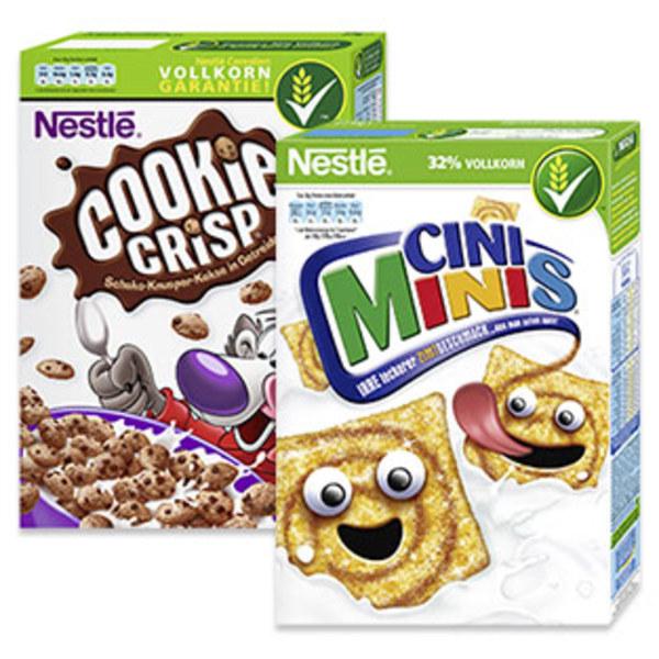 Nestlé Cerealien versch. Sorten, jede 375-g-Packung