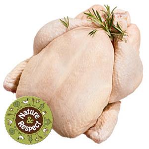 Natur+Respekt Frisches Hähnchen aus Freilandhaltung, je 1 kg