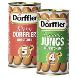 Dörffler Stramme Jungs oder kleine Dörffler jede 5 Stück = 250-g-Dose/4 Stück = 250-g-Dose