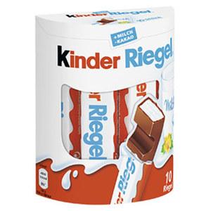 Ferrero Duplo, Kinder Riegel oder Hanuta 10er, jede 182/210/220-g-Packung