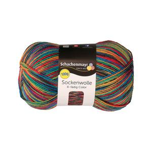 "Schachenmayr Sockenwolle ""Color"" in Bunt 100 g"
