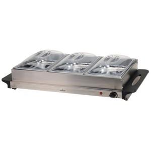 Buffet-Wärmer elektrisch 300 Watt aus Edelstahl