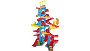 Fisher-Price - Little People - Hochhaus-Rennbahn