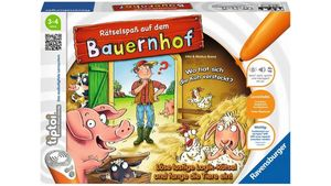 Ravensburger tiptoi - Rätselspaß auf dem Bauernhof