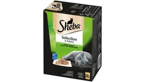 Sheba Katzennassfutter Selection in Sauce Feine Vielfalt (MSC) Multipack