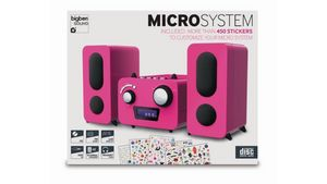 Stereo Music Center MCD11 - Kids [pink]