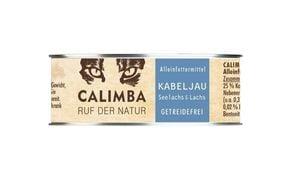 CALIMBA Katzennassfutter Kabeljau mit Lachs Dose