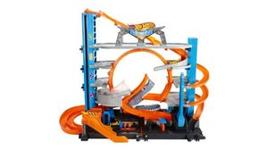 Mattel - Hot Wheels City Ultimative Garage mit Hai-Angriff