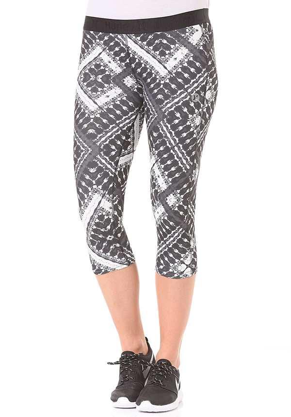 Hurley Dri-FIT Crop Legging - Trainingshose für Damen - Schwarz