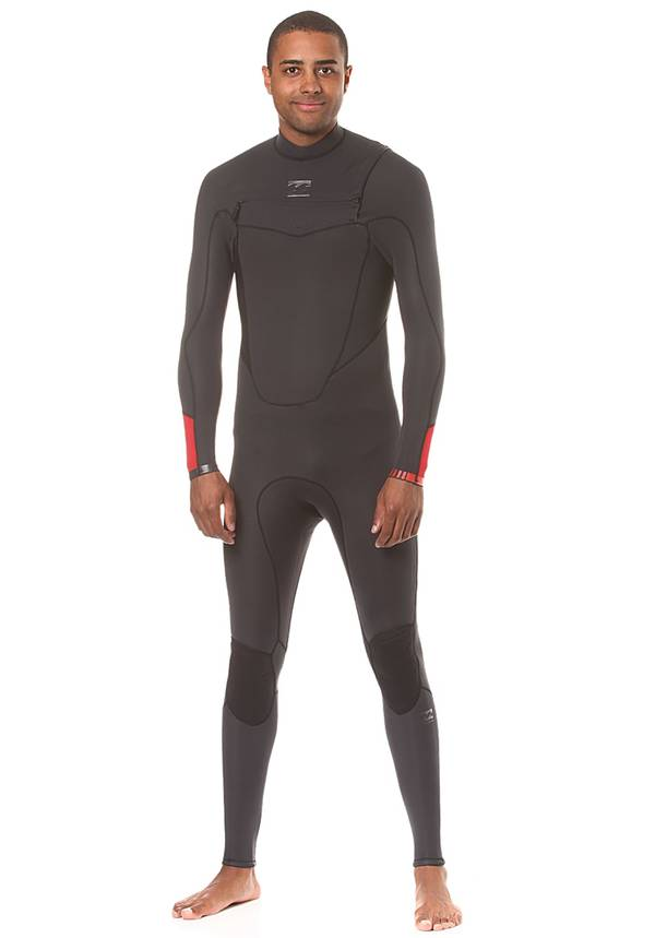 Billabong ABSolute Comp 3/2mm Chest Zip - Neoprenanzug für Herren - Schwarz
