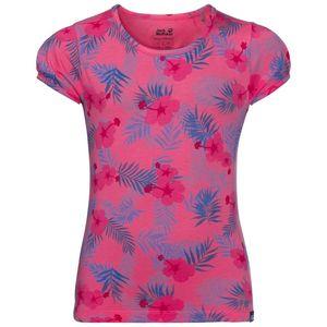 Jack Wolfskin T-Shirt Mädchen Yuba T-Shirt Girls 116 violett