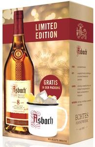 Asbach Privatbrand 8 Jahre + Metallbecher Big Buck Geschenkpackung Limited Edition 40% Vol. 0,7l