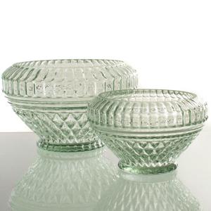 Dragimex, Deko-Schale, grün, Glas, 15 x 9,5 cm H, 63465