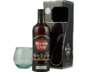 Havana Club 7 Anos 40% Vol. + exklusivem Tumbler nur solange der Vorrat reicht