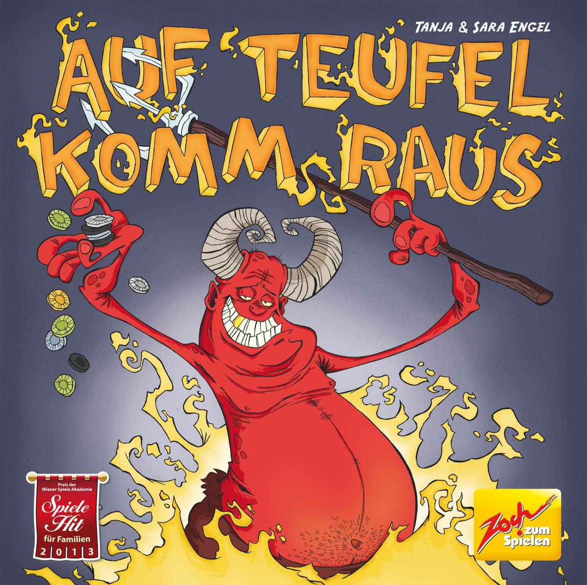 Bild 1 von Noris Spiele Auf Teufel komm raus!; 601105046