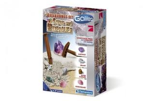 Clementoni Galileo Ausgrabungsset Steine und Mineralien