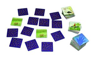 Noris Spiele Klatsch Memo; 608880001