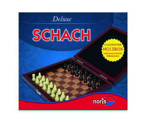 Noris Spiele Deluxe Reisespiel Schach; 606108005