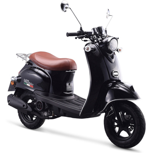 IVA Motorroller VENTI 50 ccm Euro-4-Norm 45km/h Schwarz