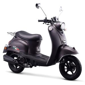 IVA Motorroller VENTI 50 ccm Euro-4-Norm 25km/h Mattschwarz