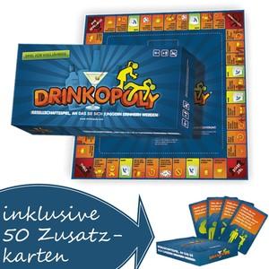 Drinkopoly mit Zusatzkarten (deutsch)