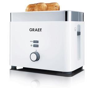 Graef Toaster TO61 Acryl weiß - wunderschön und leistungsstark