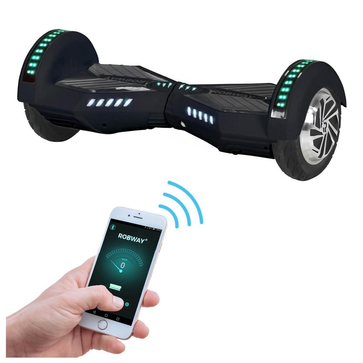 Bild 1 von Hoverboard ROBWAY W2 E-Balance Scooter Elektro Roller Smart Self Balance App (Schwarz Matt)