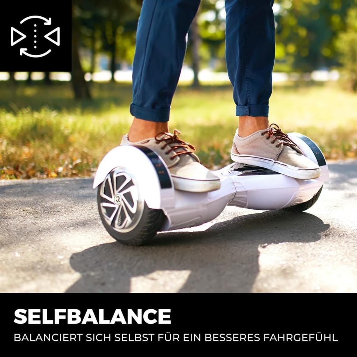 Bild 4 von Hoverboard ROBWAY W2 E-Balance Scooter Elektro Roller Smart Self Balance App (Schwarz Matt)