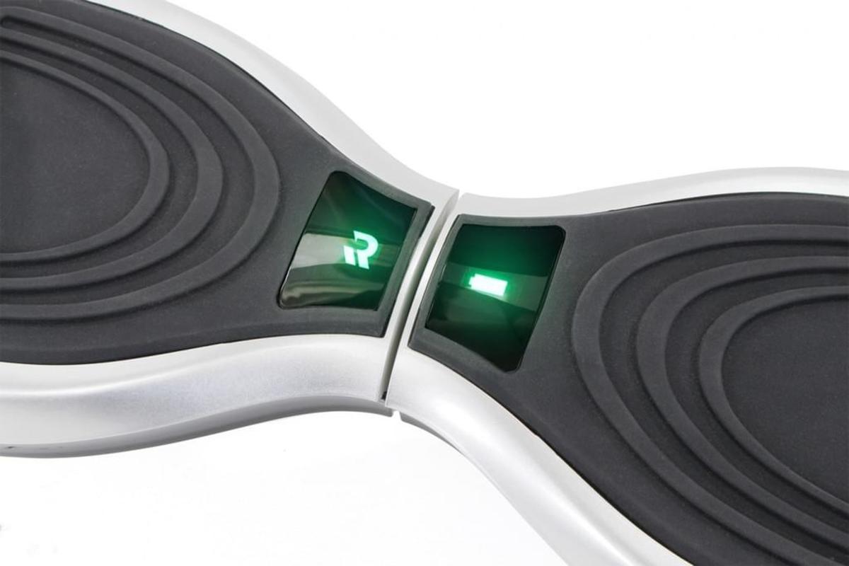 Bild 4 von Hoverboard ROBWAY Q1 E-Balance Board Scooter Elektro Roller Smart Self Balance (Light Silver)