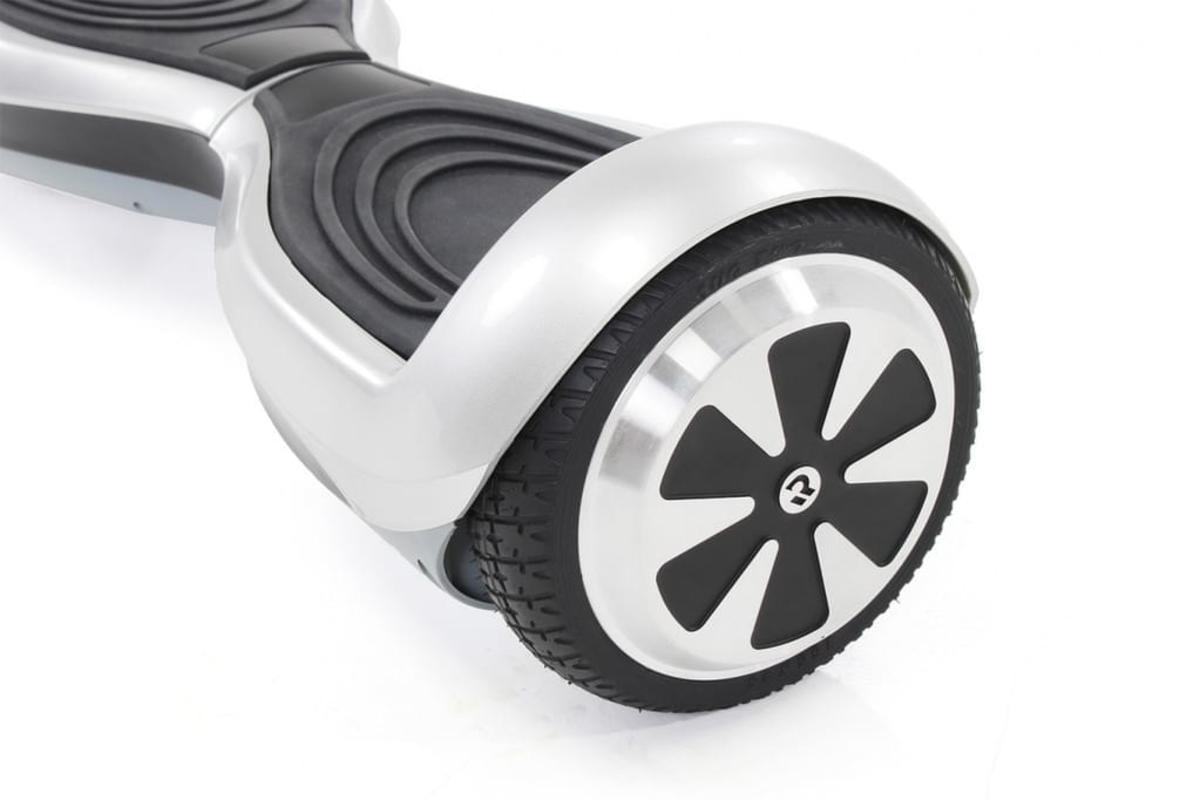 Bild 5 von Hoverboard ROBWAY Q1 E-Balance Board Scooter Elektro Roller Smart Self Balance (Light Silver)