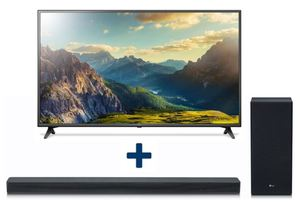 LG 4K Ultra HD LED TV 152cm (60 Zoll) 60UK6200 + SK6F 2.1 Dolby Digital Soundbar