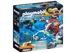 Playmobil Top Agents 70003, Aktion/Abenteuer, 6 Jahr(e), Junge, Innenraum, Mehrfarbig, Menschen