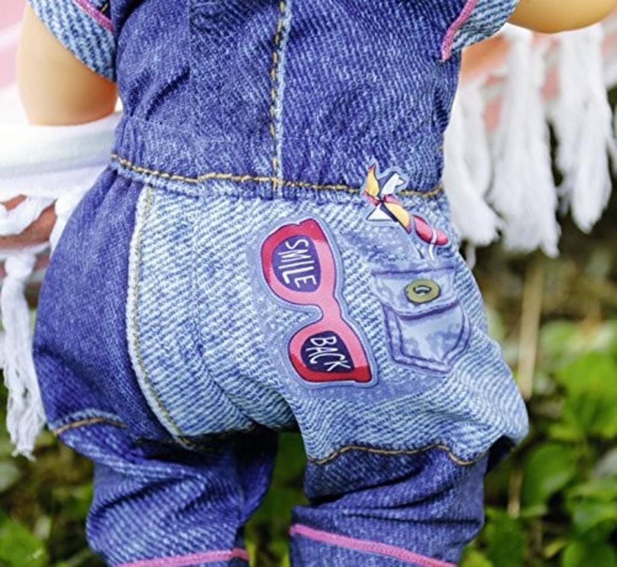 Bild 5 von 1 Set BABY born Deluxe Jeans Collection, Puppen-Kleiderset, 3 Jahr(e), Mehrfarben, 43 cm, Mädchen, 43 cm, 2-fach sortiert