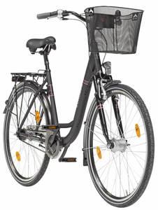 Zündapp Red 5.0 Alu-City-Fahrrad, 26er, Damen, mit Korb