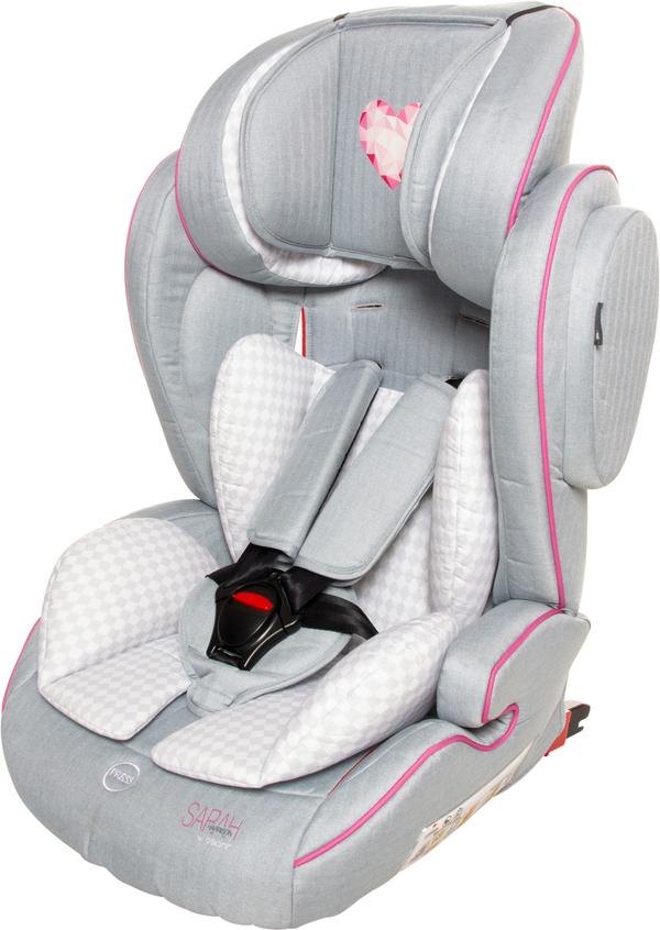 Osann Kindersitz Flux Isofit Sarah Harrison Heart