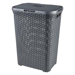 Curver Wäschebox 60 l in Rattan-Optik