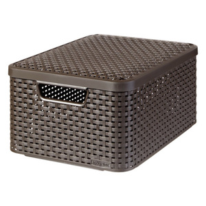 CURVER Style Box mit Deckel braun