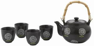 Villa Noblesse Tee-Set 5-teilig für 4 Personen, Steingut