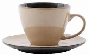 Villa Noblesse Kaffeetassen-Set für 6 Personen, Steingut