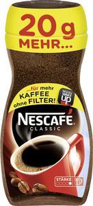 Nescafé Classic, löslicher Kaffee, 200g-Glas + 20g gratis