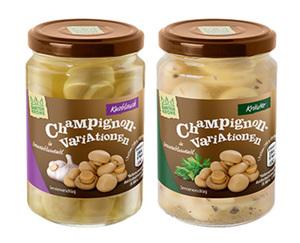 GARTENKRONE Champignon-Variationen