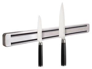 ECHTWERK Damastmesser-Set, 2-teilig + Magnetleiste aus Edelstahl