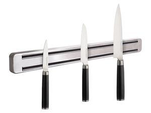 ECHTWERK Damastmesser-Set 3-teilig + Magnetleiste aus Edelstahl