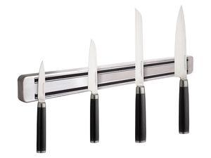 ECHTWERK Damastmesser-Set 4-teilig + Magnetleiste aus Edelstahl